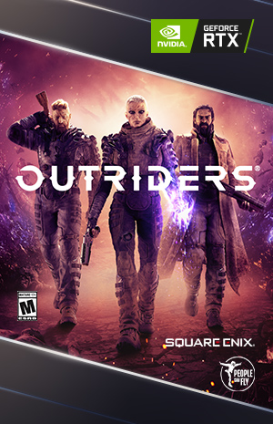Outriders game artwork
