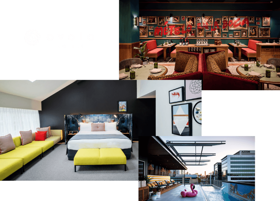 Ovolo Hotels room pictures